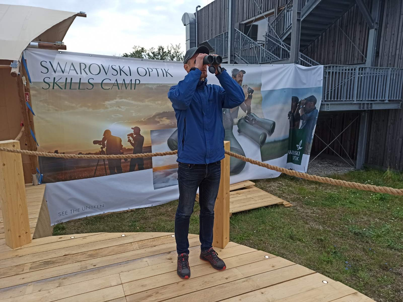 """""""Ornitostogos"""" žinių sėmėsi """"Swarovski Optik"""" stovykloje"""